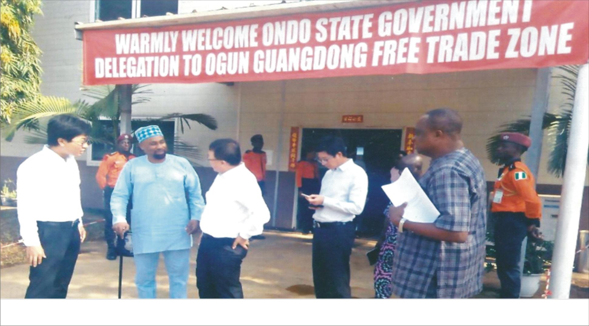 Ondo establishes GUANGDONG Free Trade Zone
