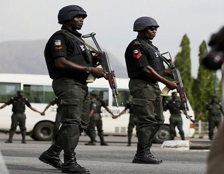 Ondo Police patrol bank areas