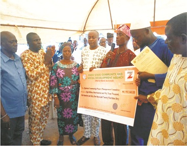 Four Ondo communities get World Bank aid