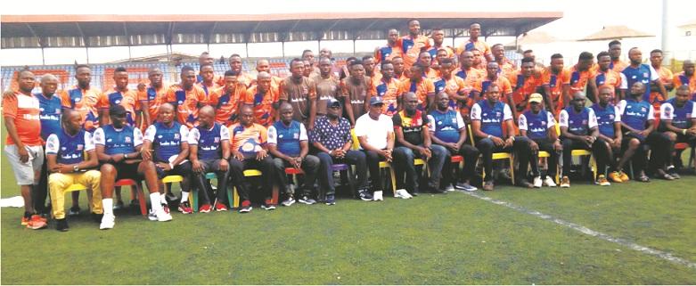 NPFL 19:  Sunshine Stars unveil  players