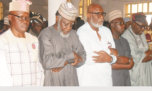 Akeredolu commends Armed Forces on national cohesion