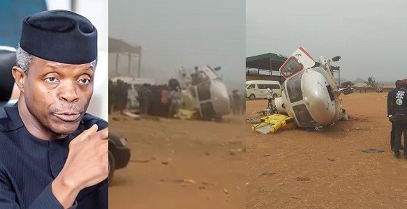 Osinbajo speaks on helicopter crash