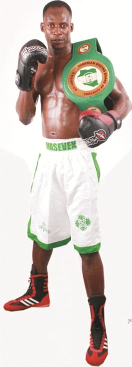 Ekiti born National Boxing Champion, challenges contenders