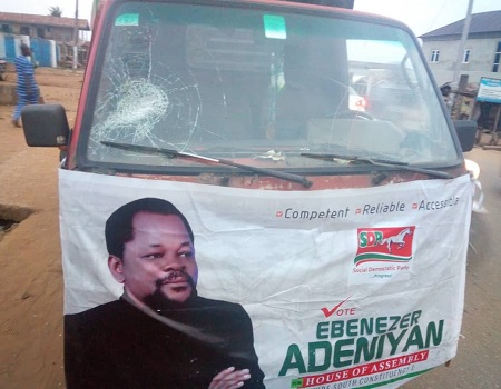Campaign: Thugs attacked Assembly candidate in Ondo