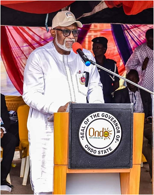 Being a special address of the Governor of Ondo State
