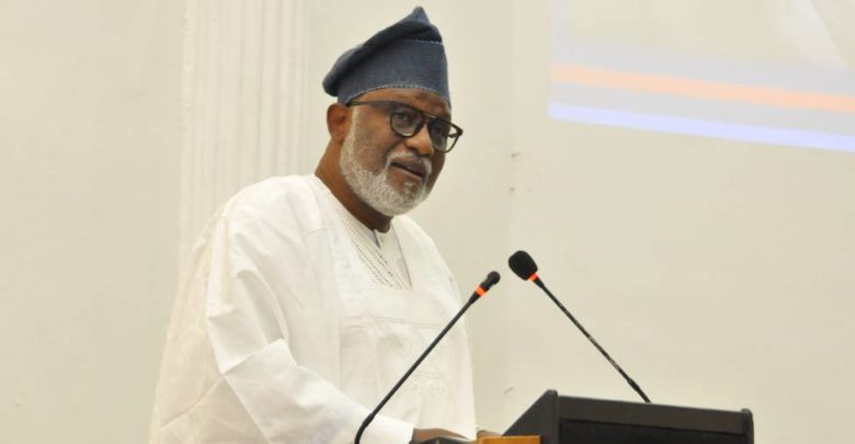 We won't fail Ondo people –Akeredolu