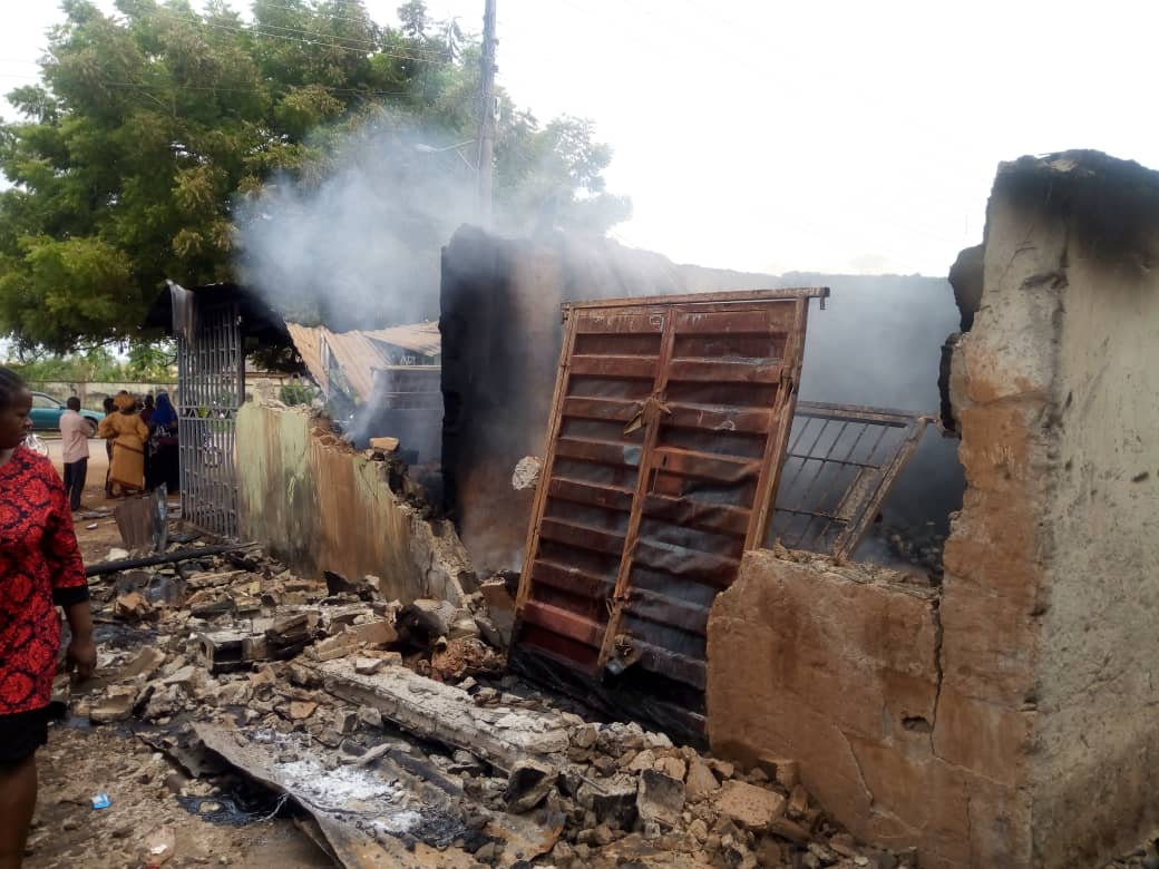 Fire guts N44m goods in Ondo