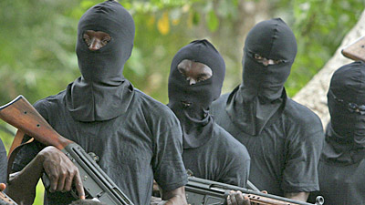 Ex-militants hold LG boss, workers hostage