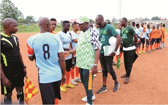 We are focused on talents discovery-ODSFA boss