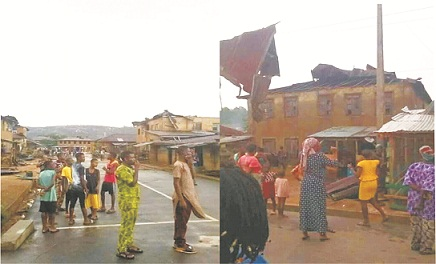 Rainstorm render thousands homeless in Akoko