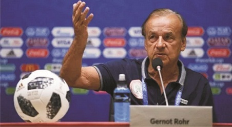 Egypt 2019 and Gernot Rohr's maddening crowd