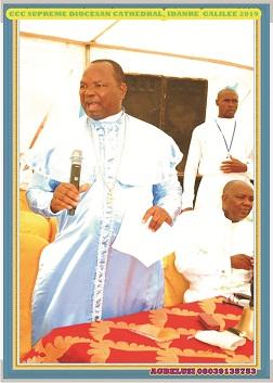 Celestial Church will soon become one again -Dr. Oki