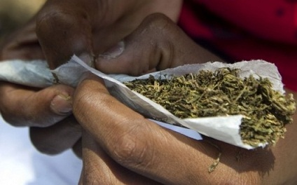 Three  docked  for smoking  Indian Hemp