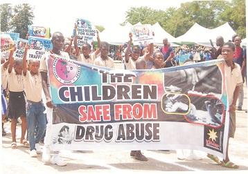 Ending drug abuse among children