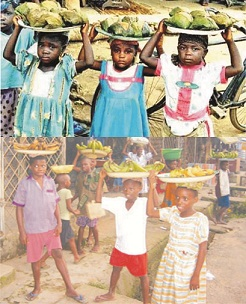 Increasing cases of children hawkers