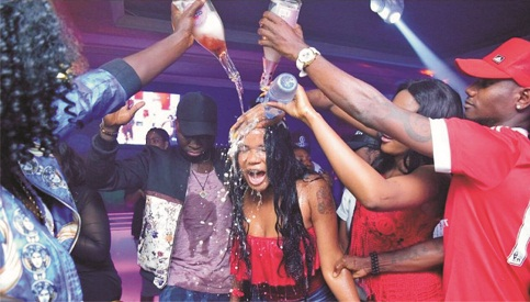 Akure Night Club where Strippers, crawlers meet