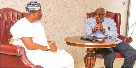 Olowo-elect visits Akeredolu, promisesimpacful reign