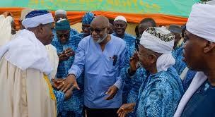 Be good ambassadors,Akeredolu charges 276 intending pilgrims