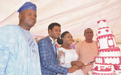 Ekiti Commissioner gives out daughter in marriage