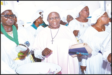 'CCC, Soldiers of Christ Parish celebrates harvest'