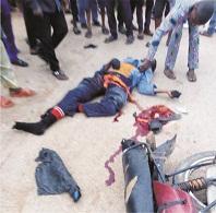 Okada rider dies in autocrash