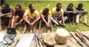 EKSU student, five others nabbed over cultism, robbery