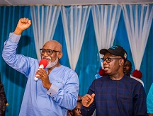 Provision of potable water, priority – Akeredolu