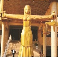 Monarch in court over defamation, threat to life