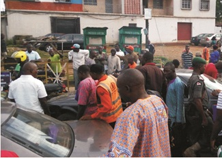 Stop taking photographs of accidents scenes, Nigerians warned
