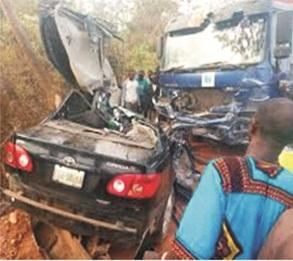 Ondo auto crash claims 5 lives