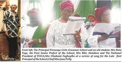 Fiwasaye pioneer Principal lived impactful life – Borokini