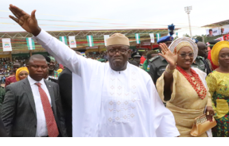 Hold your leaders accountable, Fayemi urges Nigerians