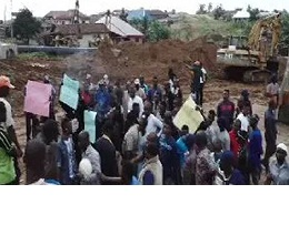 Pipeline project; Odigbo youths protest