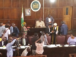 Ondo Speaker recalls lawmakers from recess