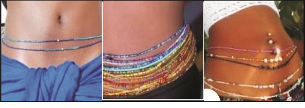 Waist beads, fetish  or fashion?