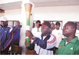 NSF: Nasarawa Gov receives Torch of Unity
