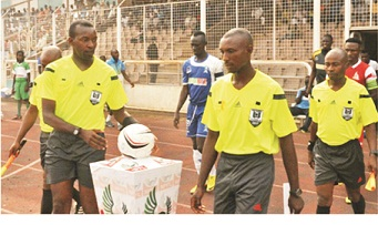 Be firm, NFF charges Referees