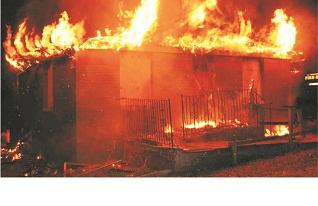 Fire destroys Ekamarun Secondary School