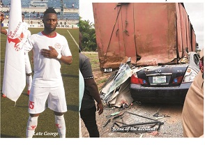 Super Eagles supporters condole Rangers over player's death