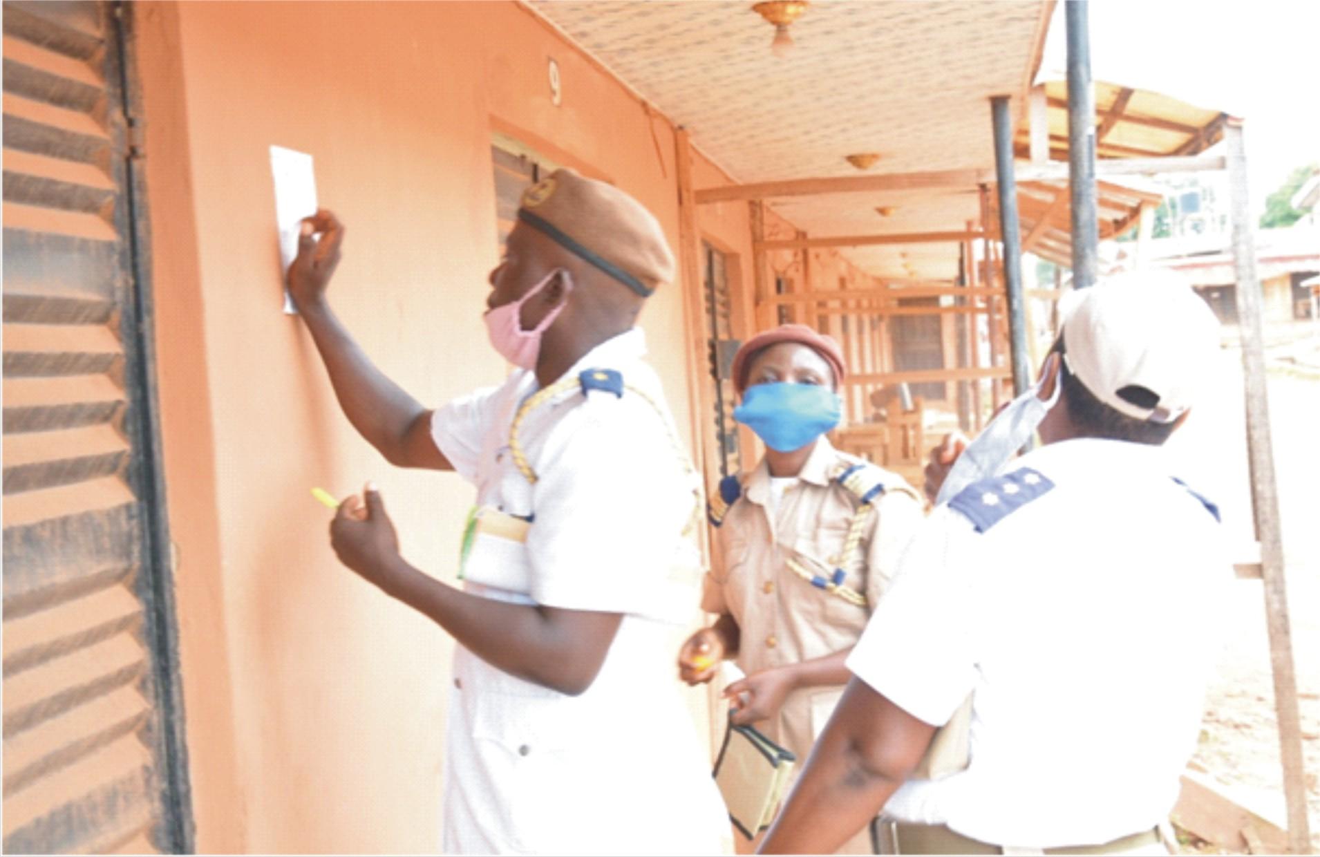 ODSG shuts shops for flouting sanitation law