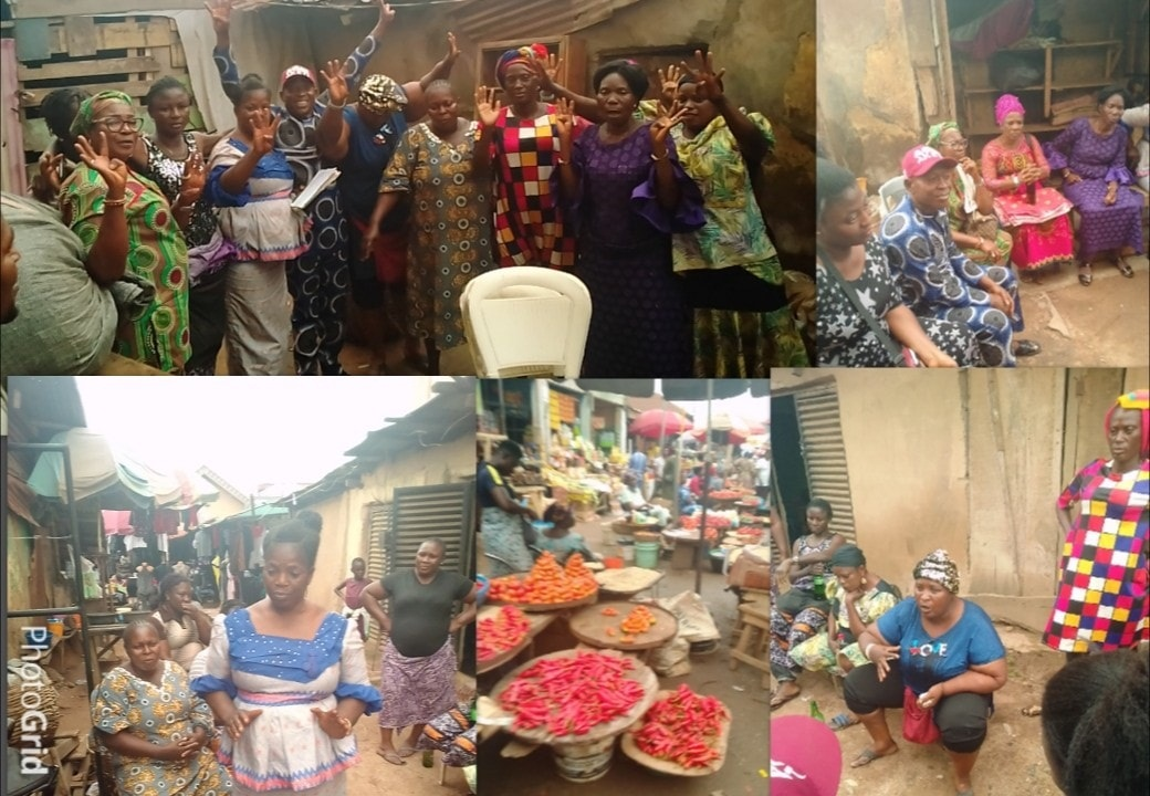 Market women drum support for Gov's re-election