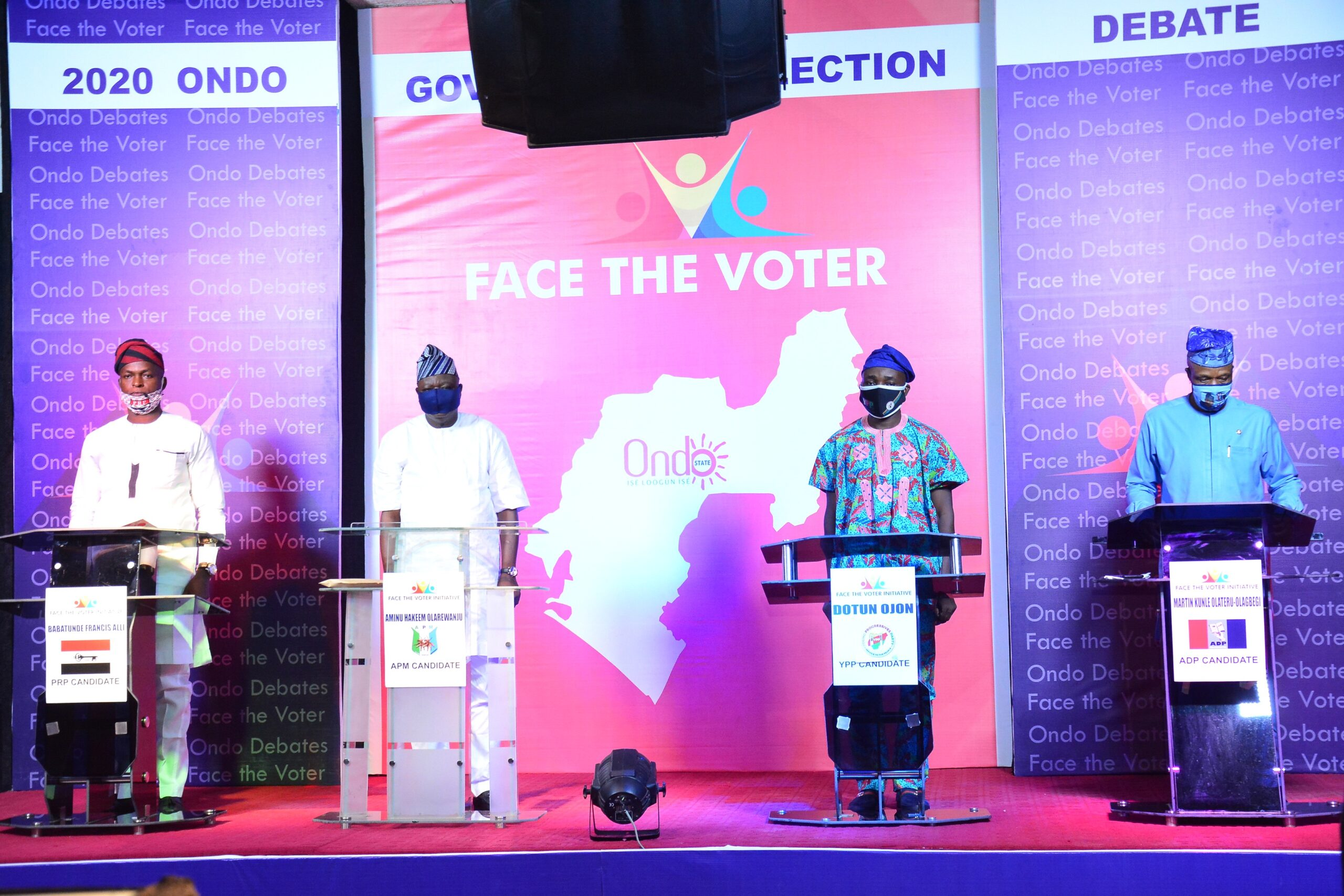 Ondo guber debate:Candidates  promise all inclusive governance