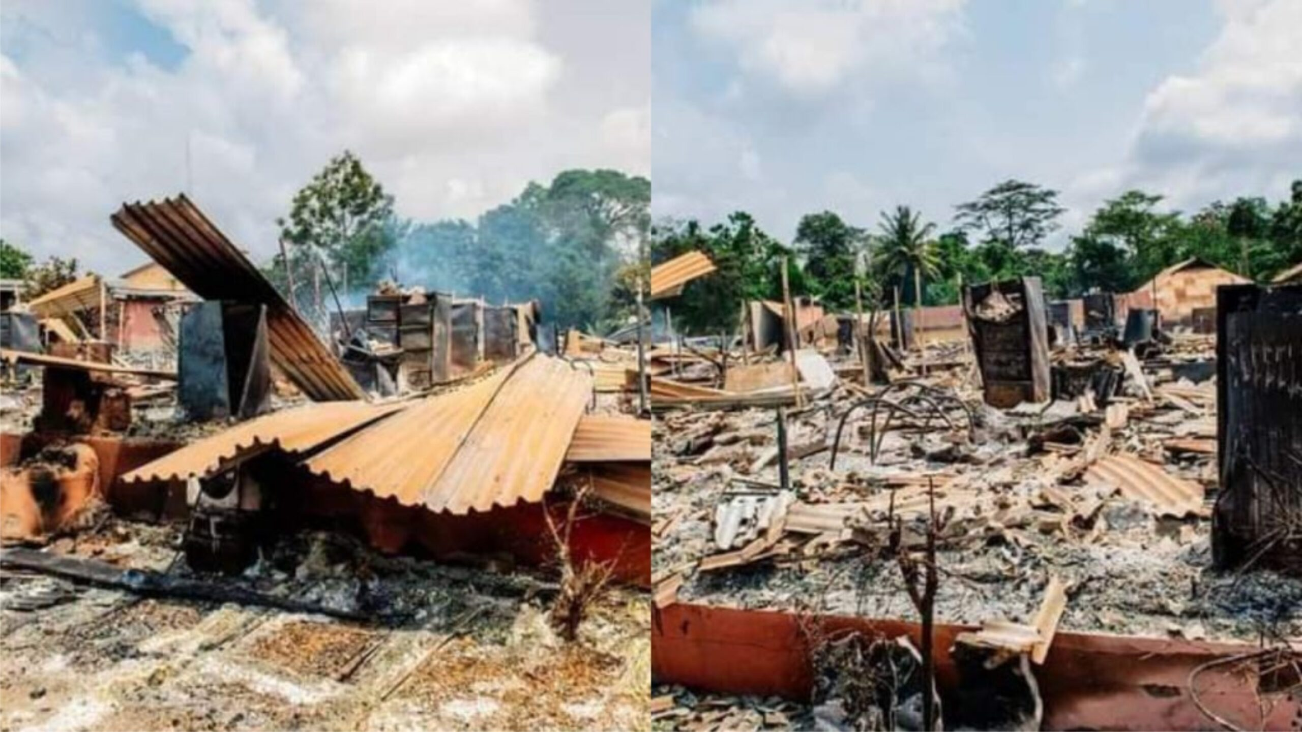 Akeredolu inspects OSRC,SUBEB's razed by fire