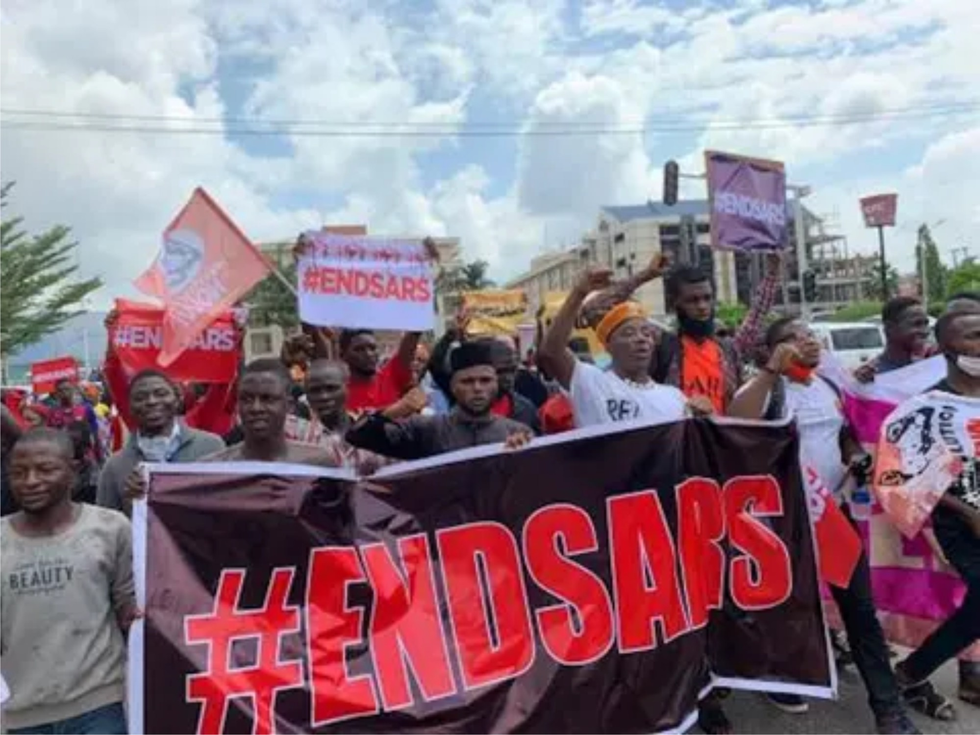 ENDSARS protests:Nigerians want FG to avert reoccurrence