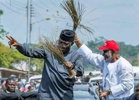 Fayemi congratulates Akeredolu on re-election