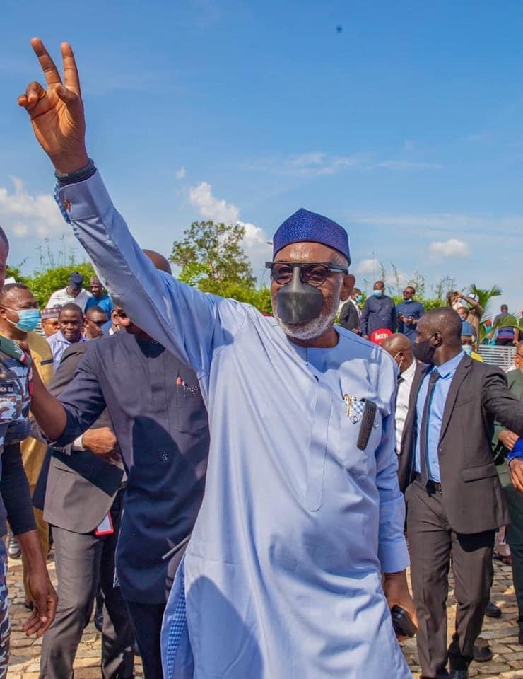 Akeredolu wins landslide, floors Jegede again