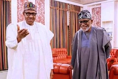 Justify people's trust, Buhari tells Akeredolu