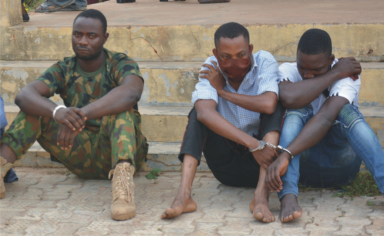 Constable, soldiers arrested  over armed robbery in Ondo