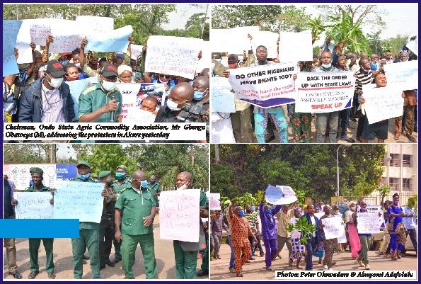 Quit order: Protest rocks Akure over Presidency's stance