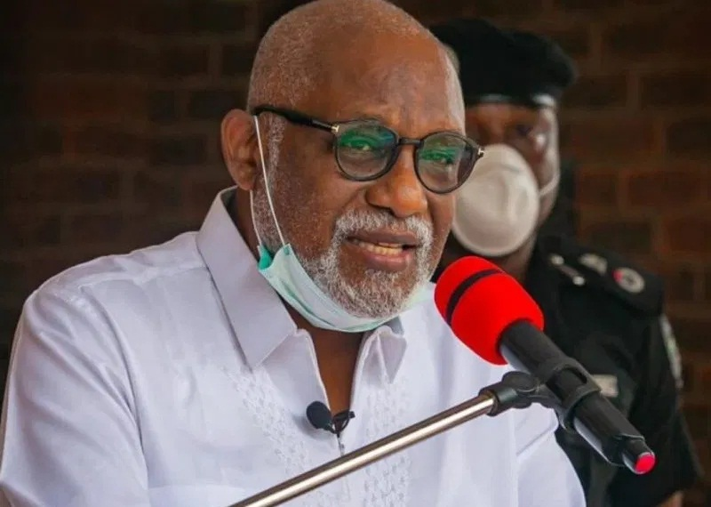 Akeredolu gives automatic employment,  scholarship to late CoP driver's children